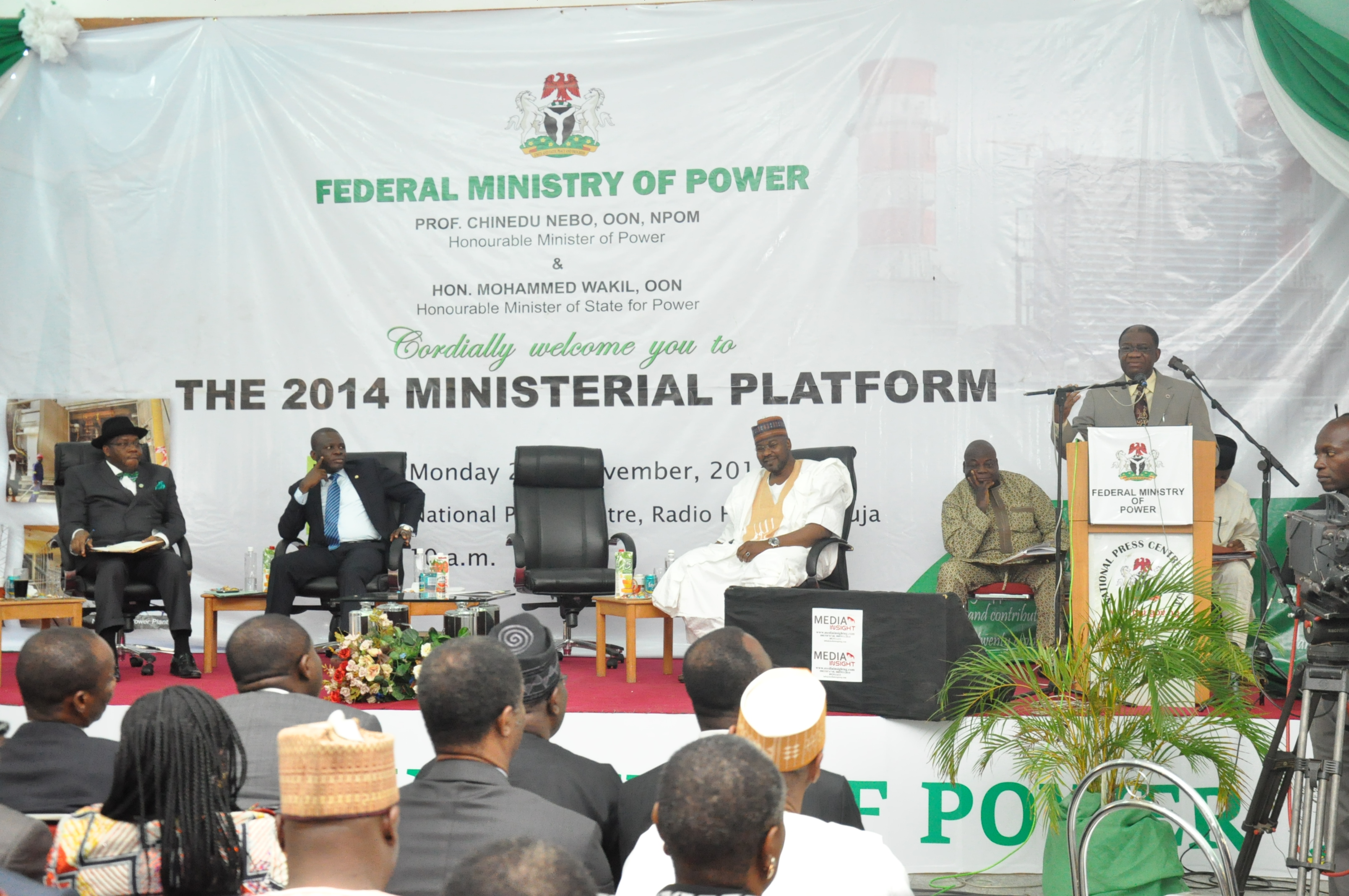 The Minister of Power's 2014 Ministerial Platform