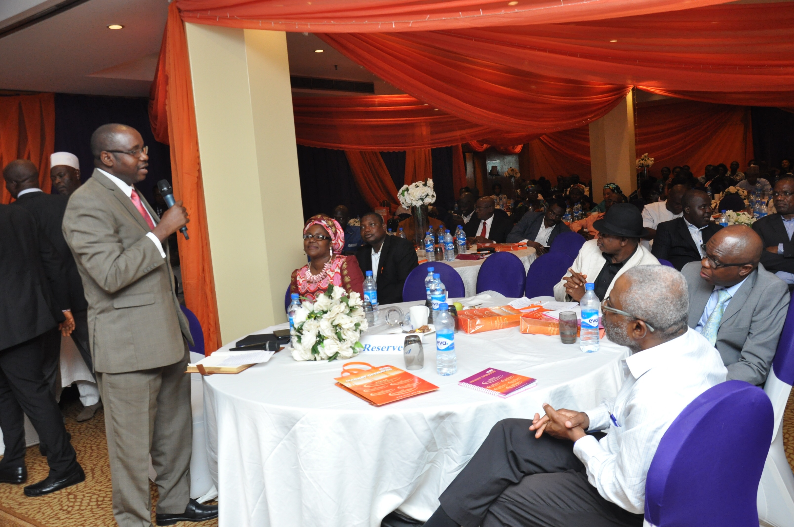 Interim MD/CEO, TCN, Mr Usman Mohammed addressing workshop participants